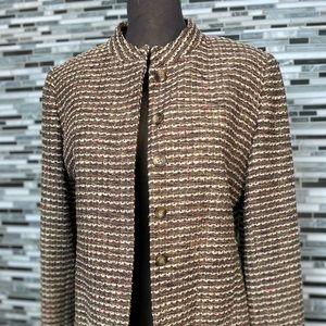 Donna castor women's tweed blazer
